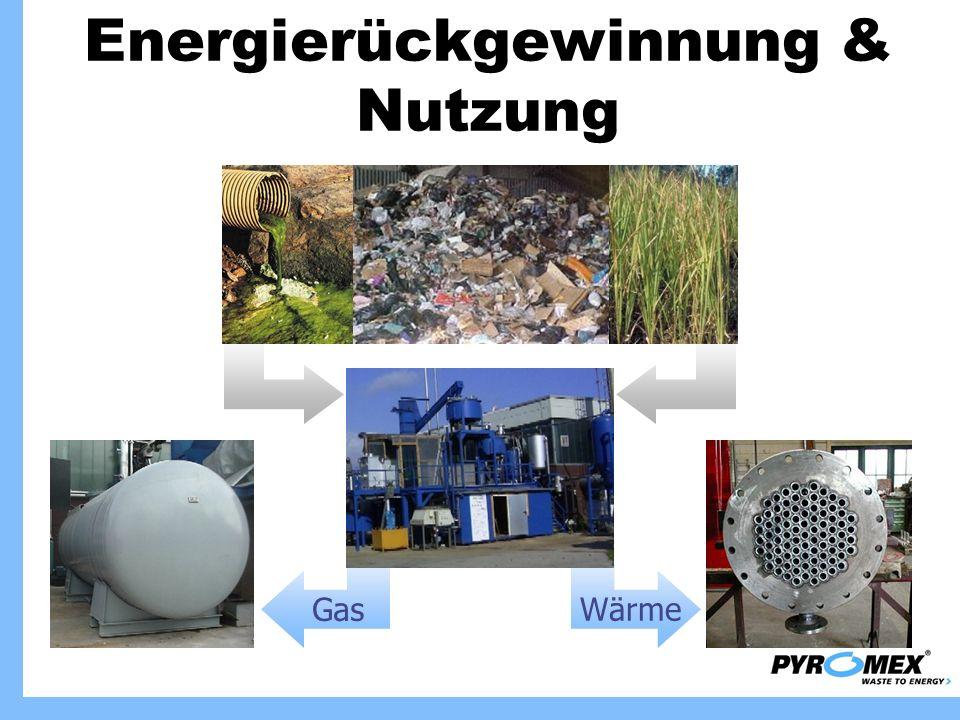 Energierückgewinnung & Nutzung