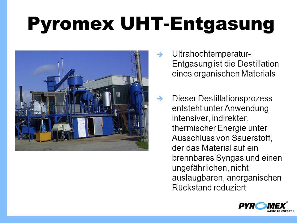 Pyromex UHT-Entgasung