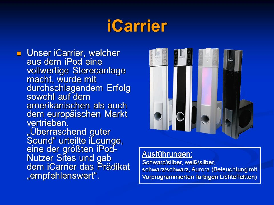 iCarrier