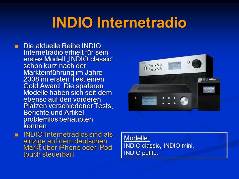 INDIO Internetradio