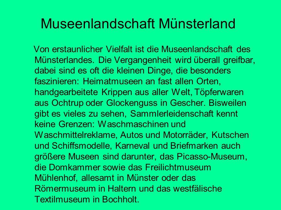 Museenlandschaft Münsterland