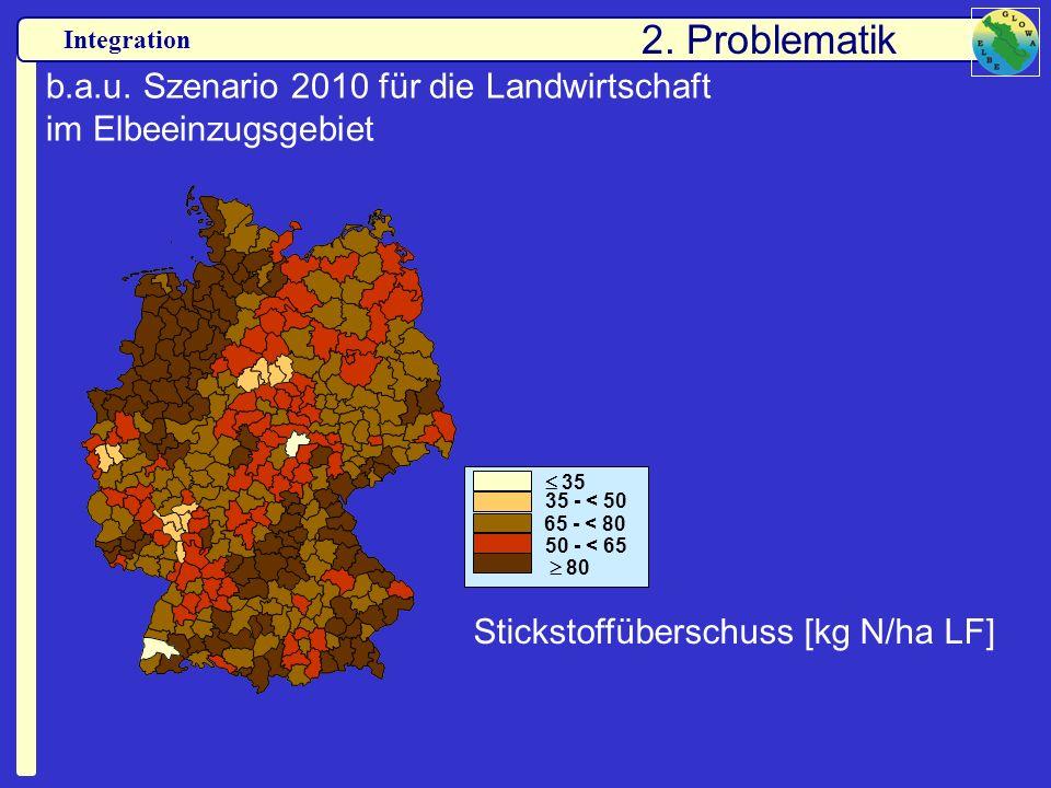 b.a.u. Szenario 2010 für die Landwirtschaft im Elbeeinzugsgebiet