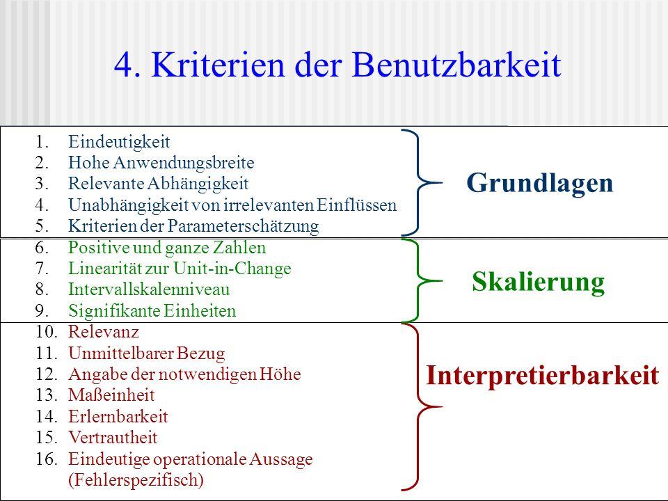 4. Kriterien der Benutzbarkeit