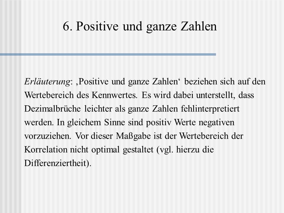 6. Positive und ganze Zahlen