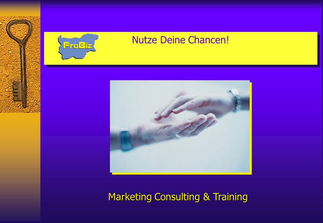 Marketing Consulting & Training