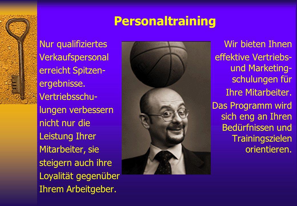 Personaltraining Nur qualifiziertes Verkaufspersonal erreicht Spitzen-
