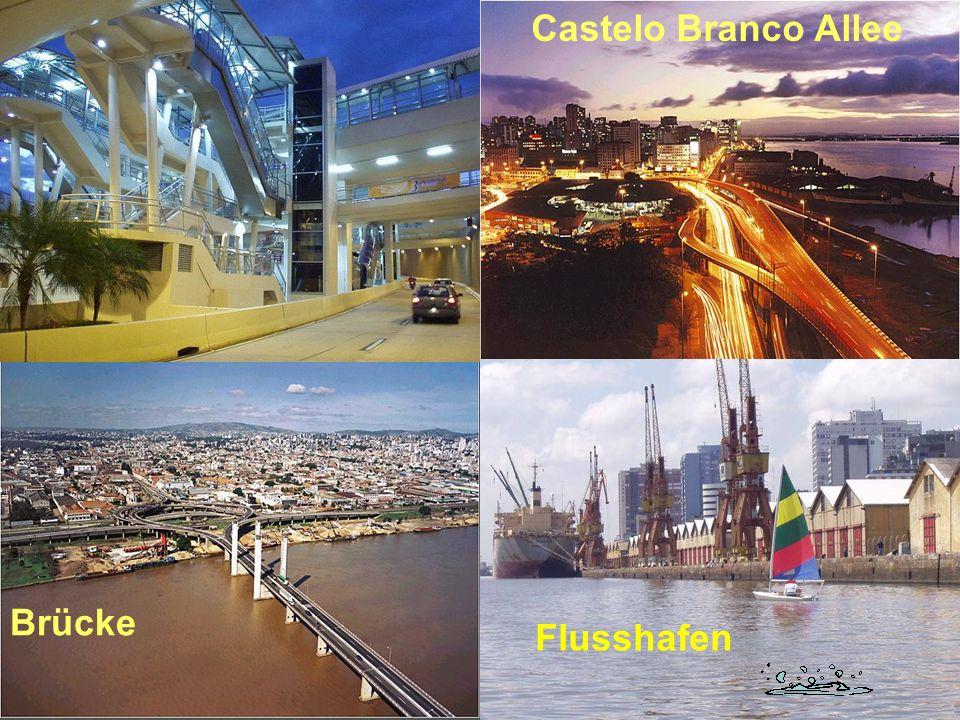 Castelo Branco Allee Brücke Flusshafen