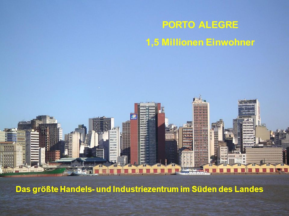 Das größte Handels- und Industriezentrum im Süden des Landes
