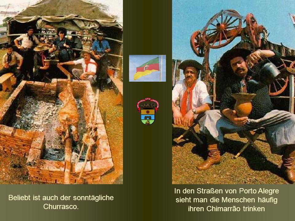 Beliebt ist auch der sonntägliche Churrasco.