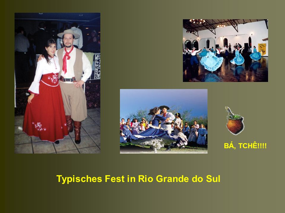 Typisches Fest in Rio Grande do Sul