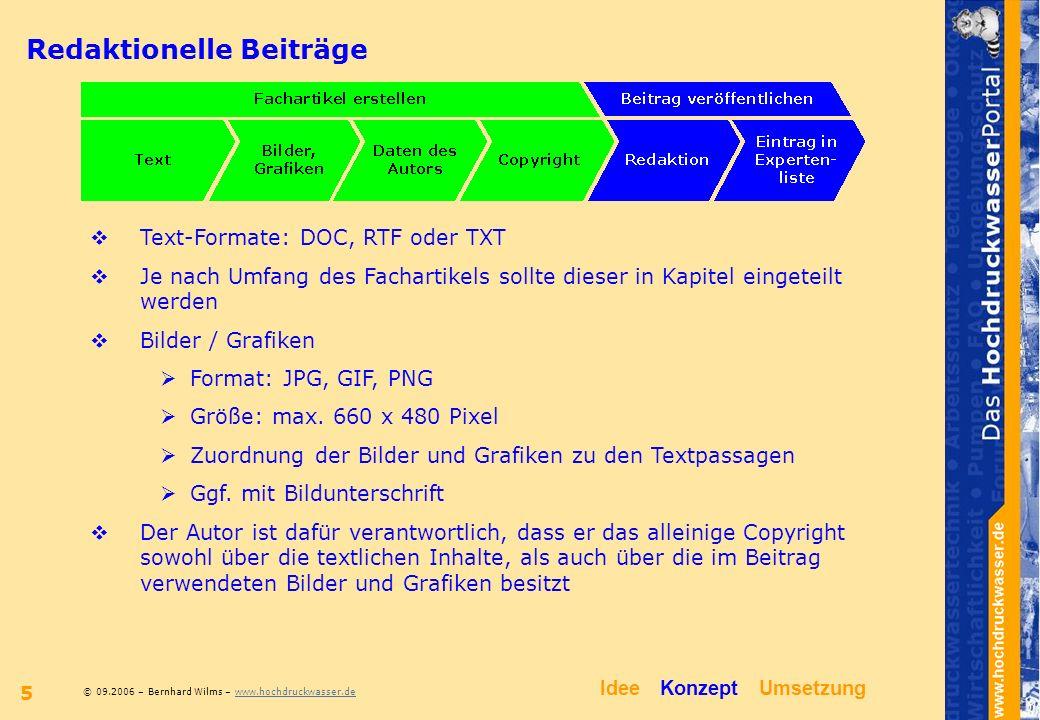 Kapitelliste Bebilderter Fachbeitrag Idee Konzept Umsetzung