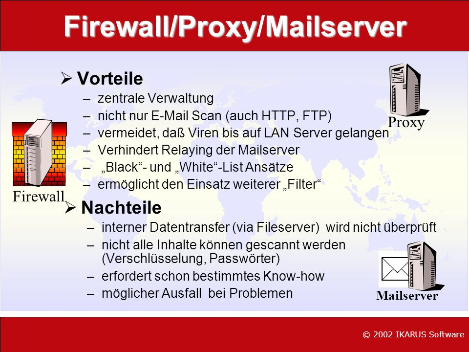 Firewall/Proxy/Mailserver