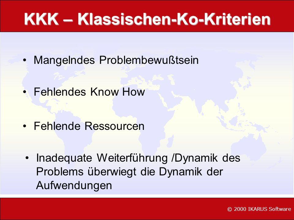 KKK – Klassischen-Ko-Kriterien