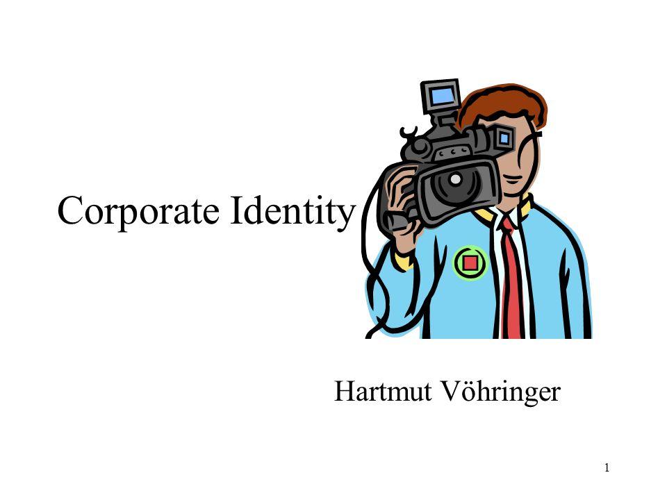 Corporate Identity Hartmut Vöhringer