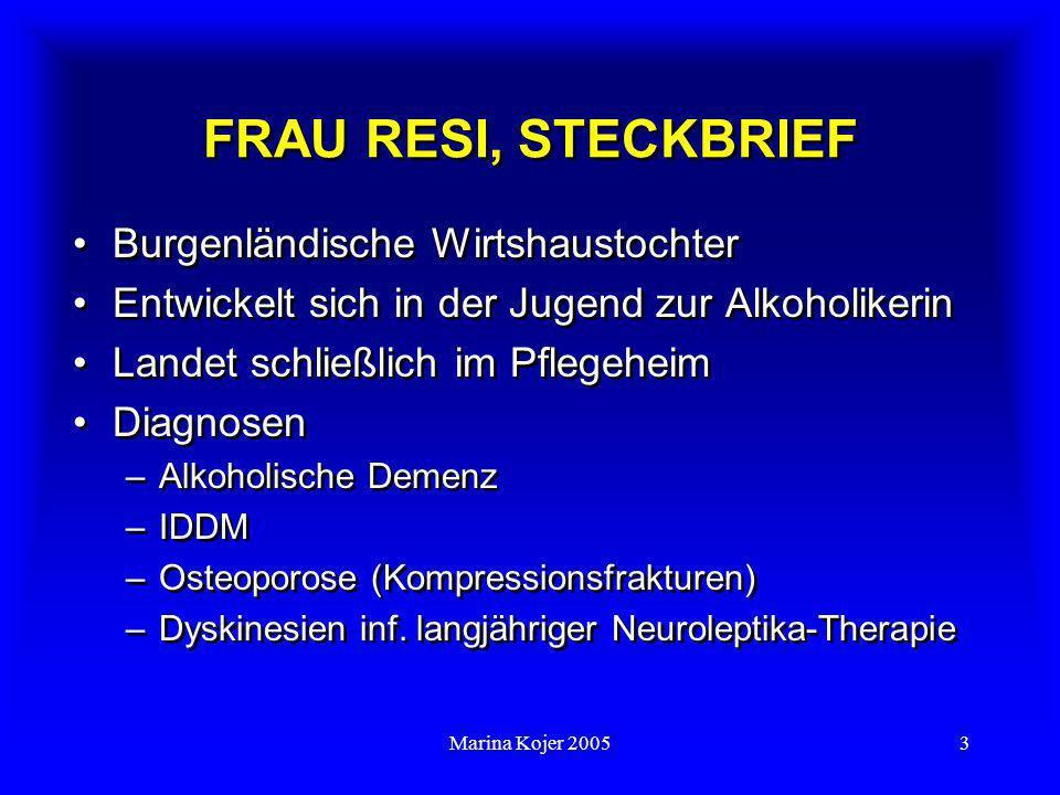 FRAU RESI, STECKBRIEF Burgenländische Wirtshaustochter