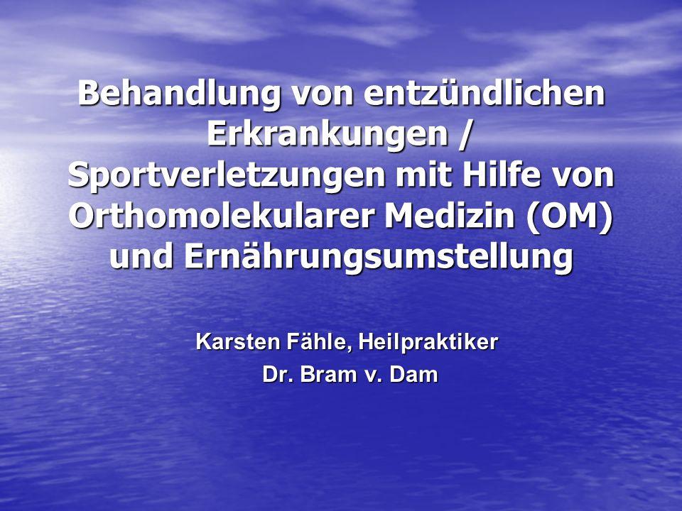 Karsten Fähle, Heilpraktiker Dr. Bram v. Dam