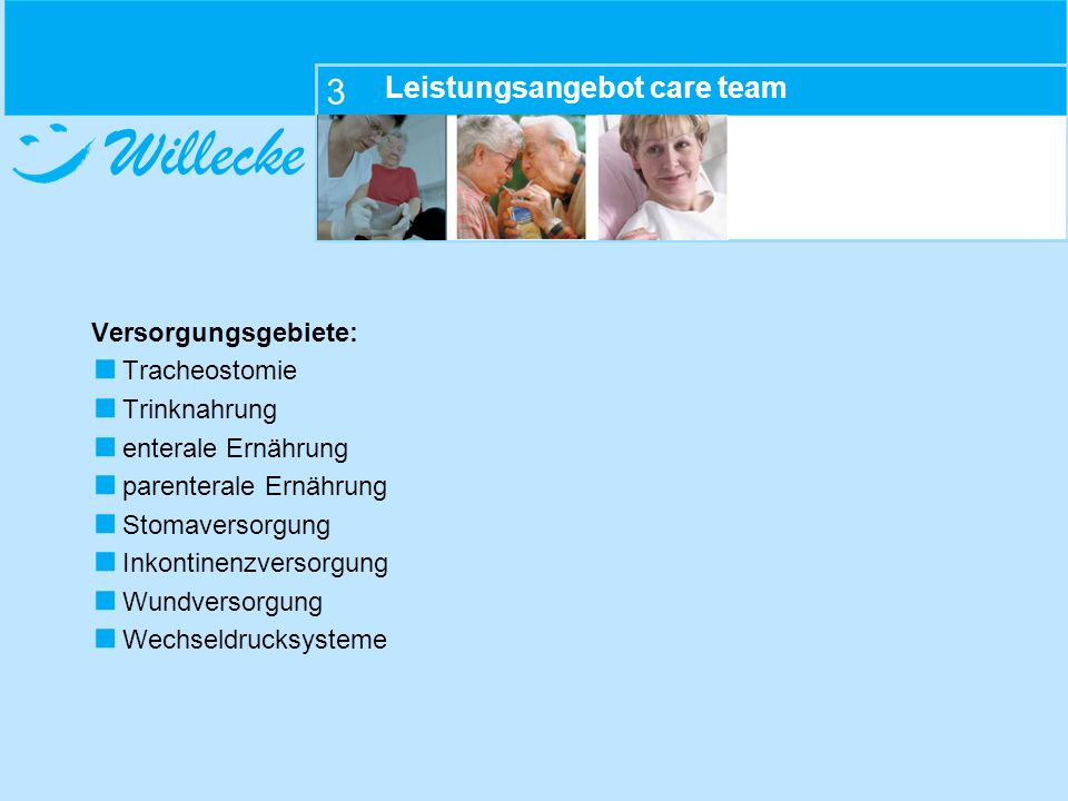 Leistungsangebot care team