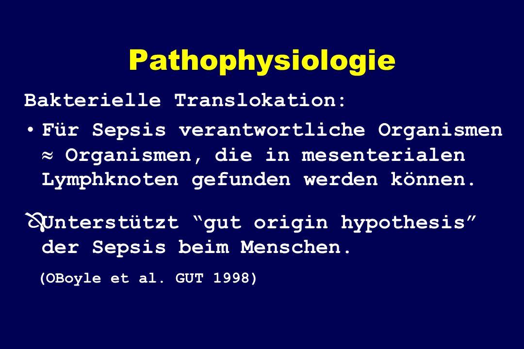 Pathophysiologie Bakterielle Translokation:
