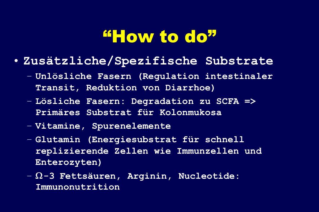 How to do Zusätzliche/Spezifische Substrate