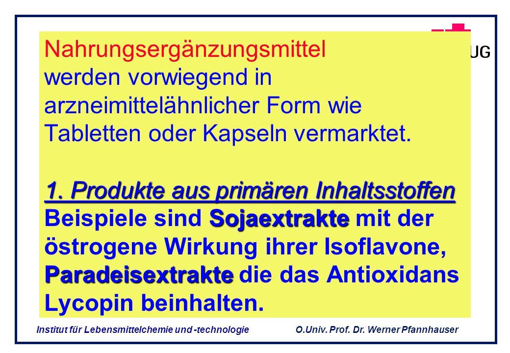 Nahrungsergänzungsmittel werden vorwiegend in arzneimittelähnlicher Form wie Tabletten oder Kapseln vermarktet.