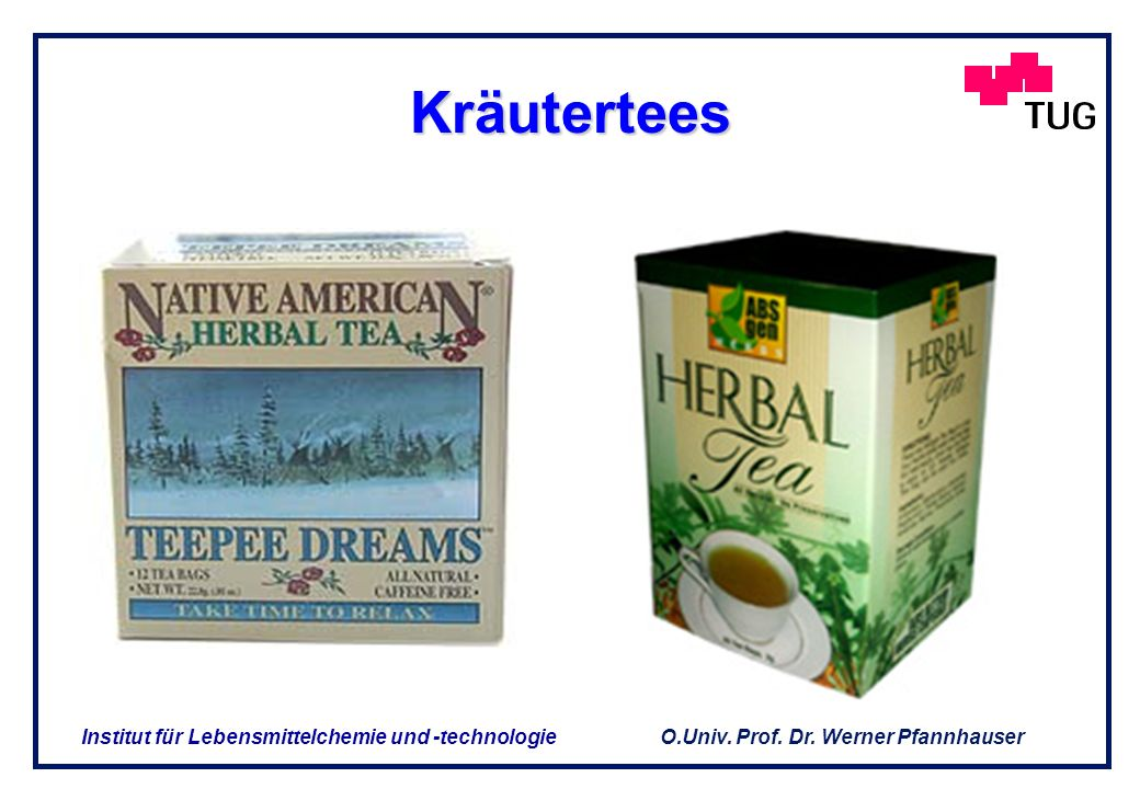 Kräutertees