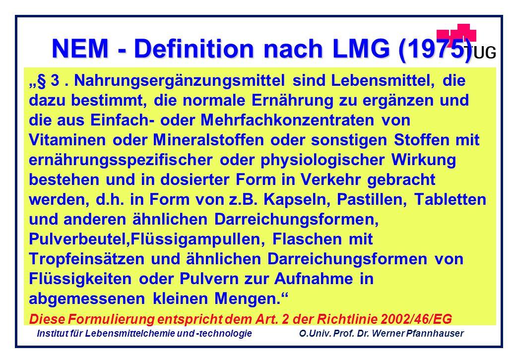 NEM - Definition nach LMG (1975)