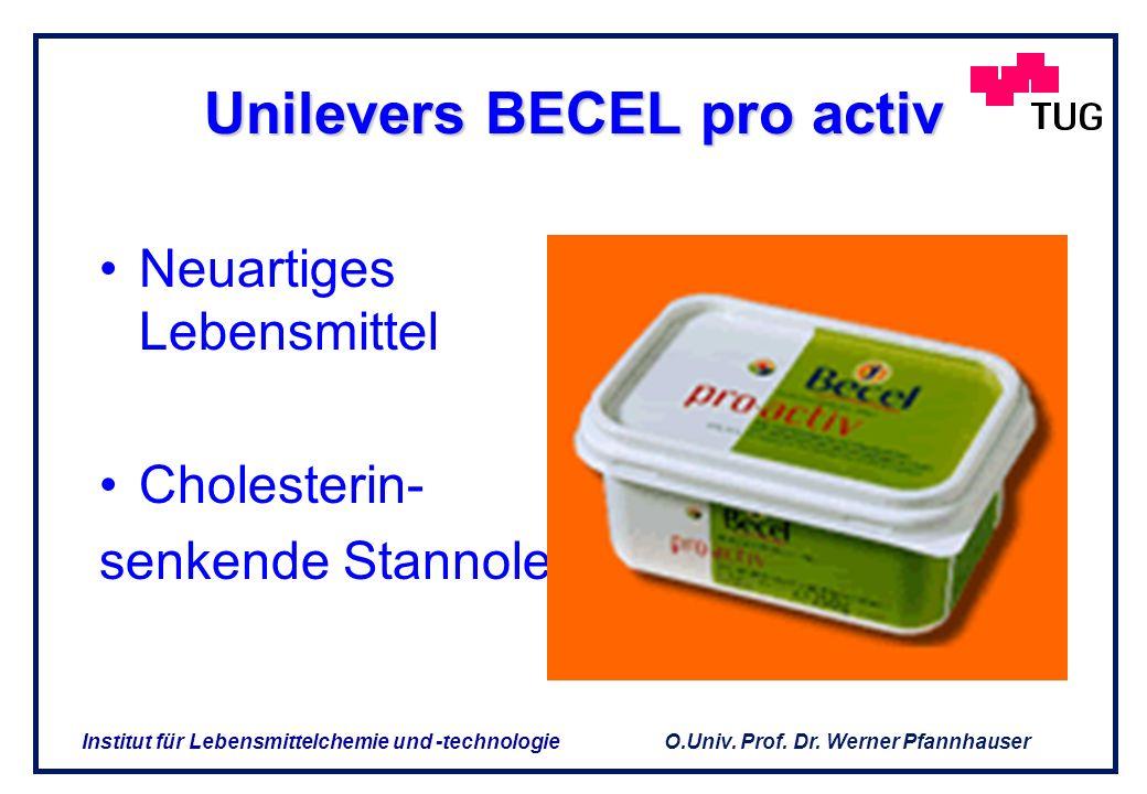 Unilevers BECEL pro activ