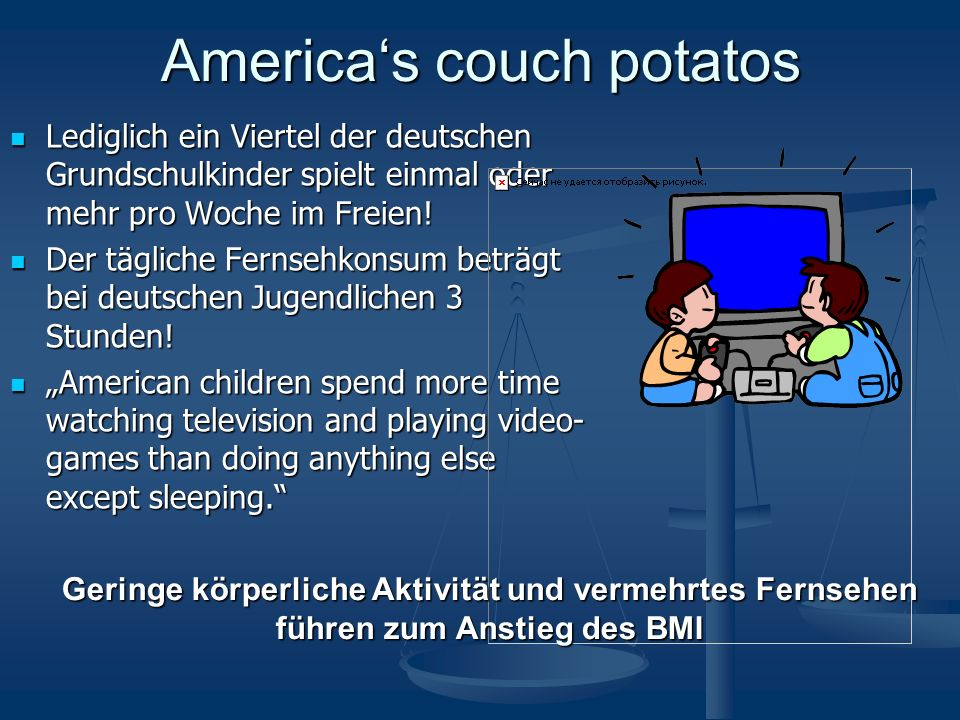 America's couch potatos