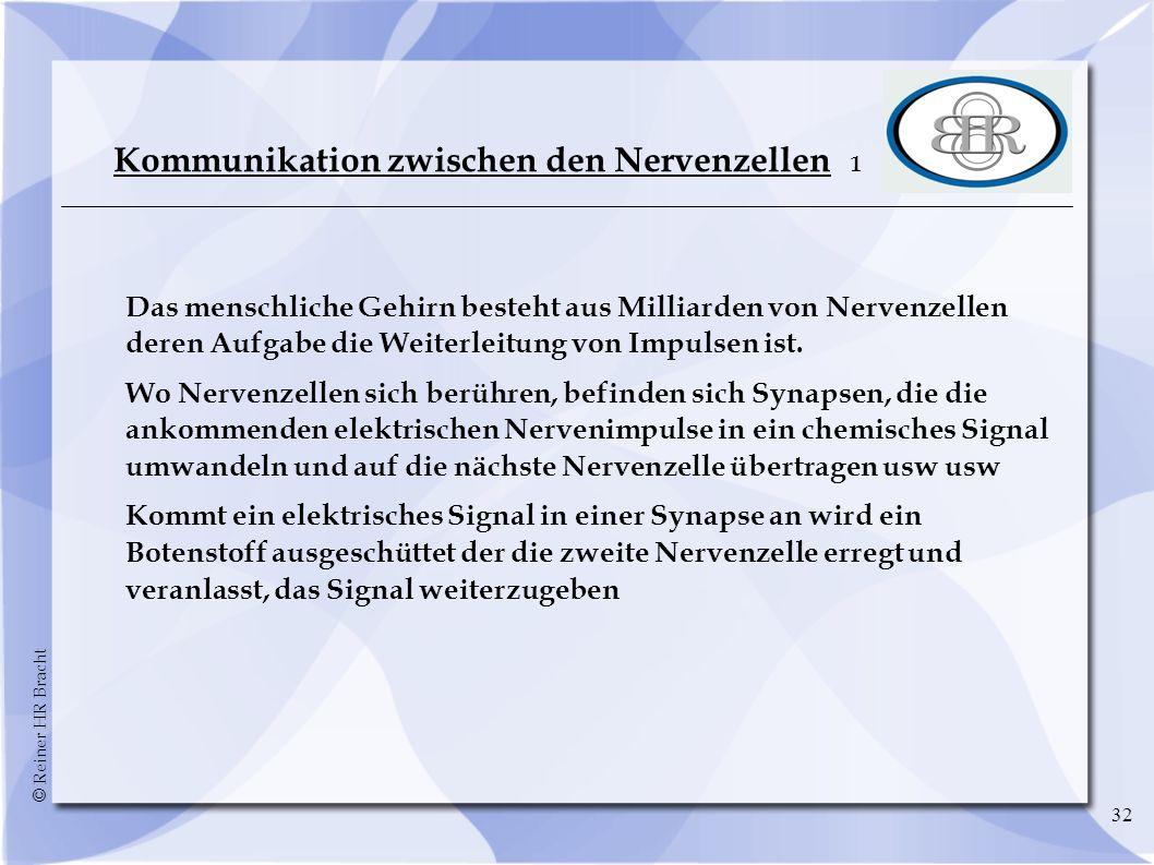 Kommunikation zwischen den Nervenzellen 1
