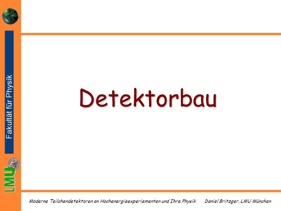 Detektorbau