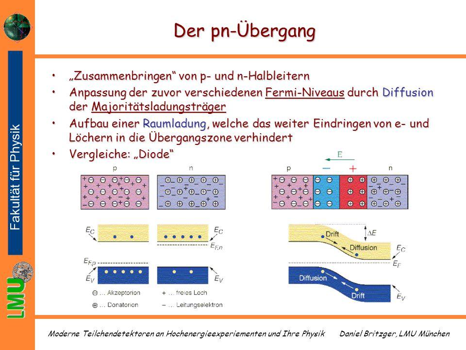 """Der pn-Übergang """"Zusammenbringen von p- und n-Halbleitern"""