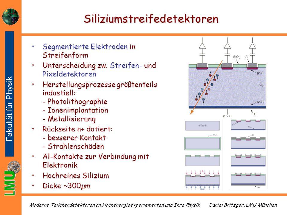 Siliziumstreifedetektoren