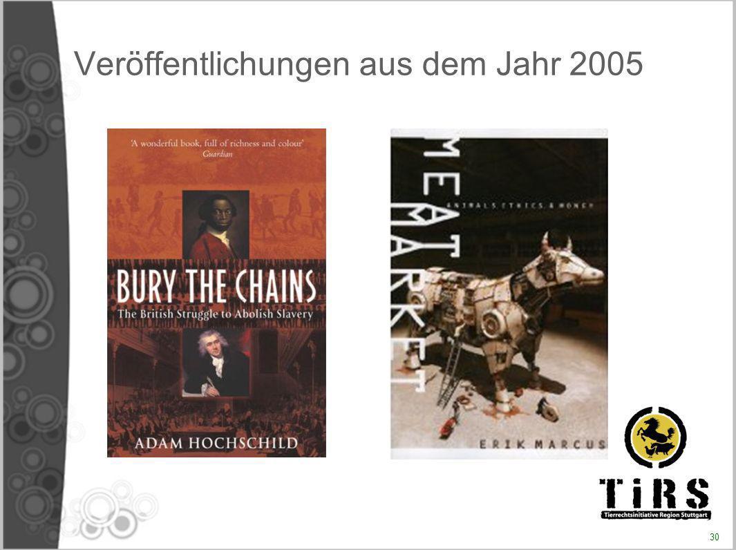Veröffentlichungen aus dem Jahr 2005