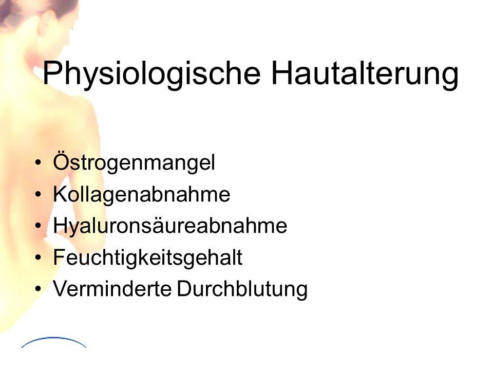 Physiologische Hautalterung