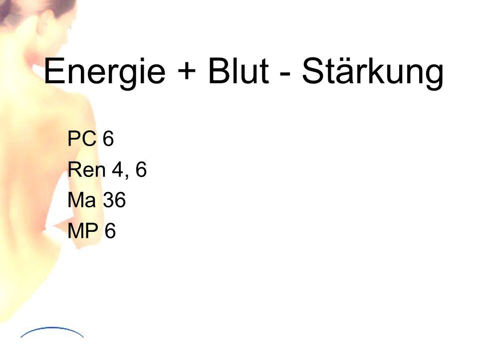 Energie + Blut - Stärkung