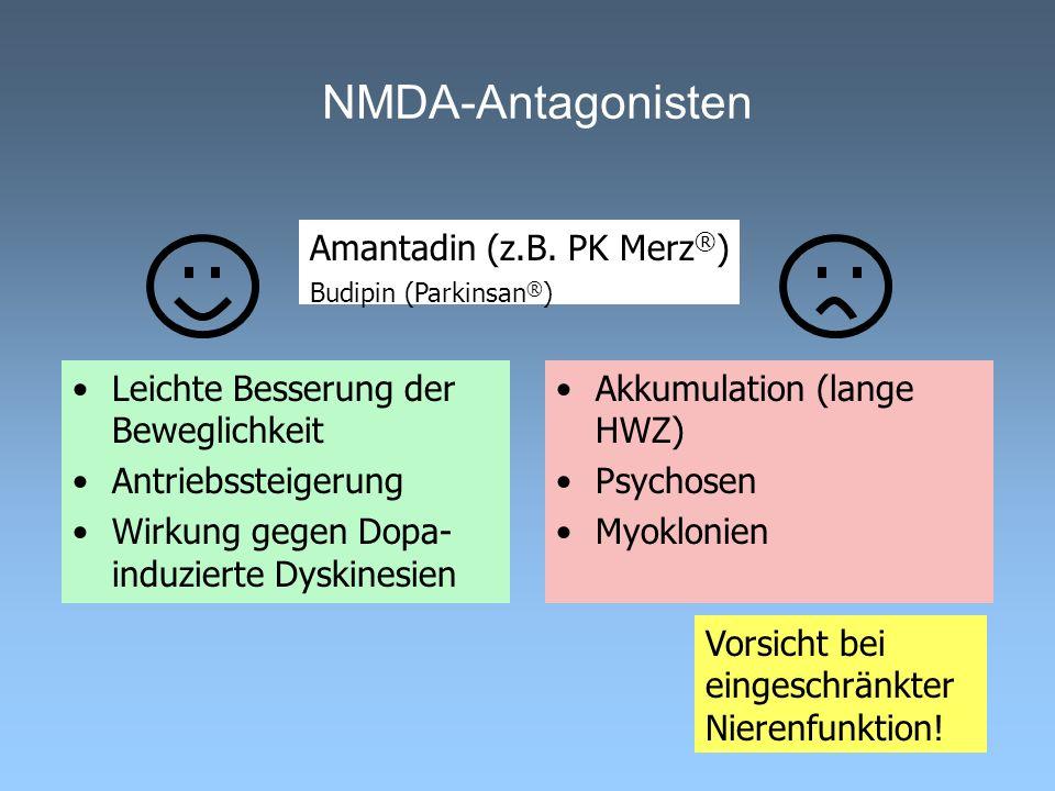 NMDA-Antagonisten Amantadin (z.B. PK Merz®)