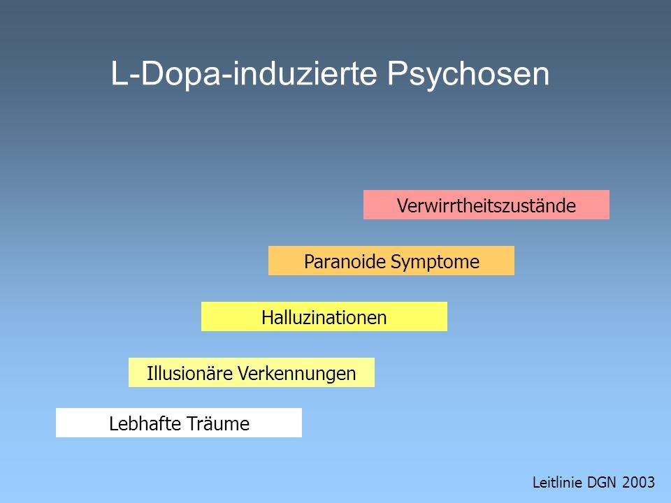 L-Dopa-induzierte Psychosen