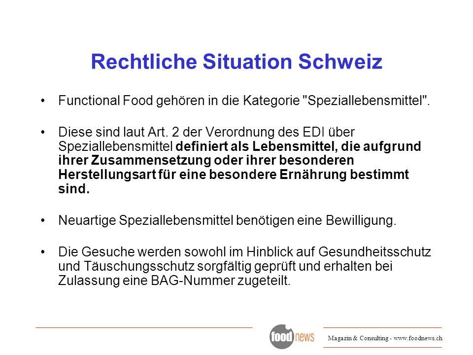 Rechtliche Situation Schweiz