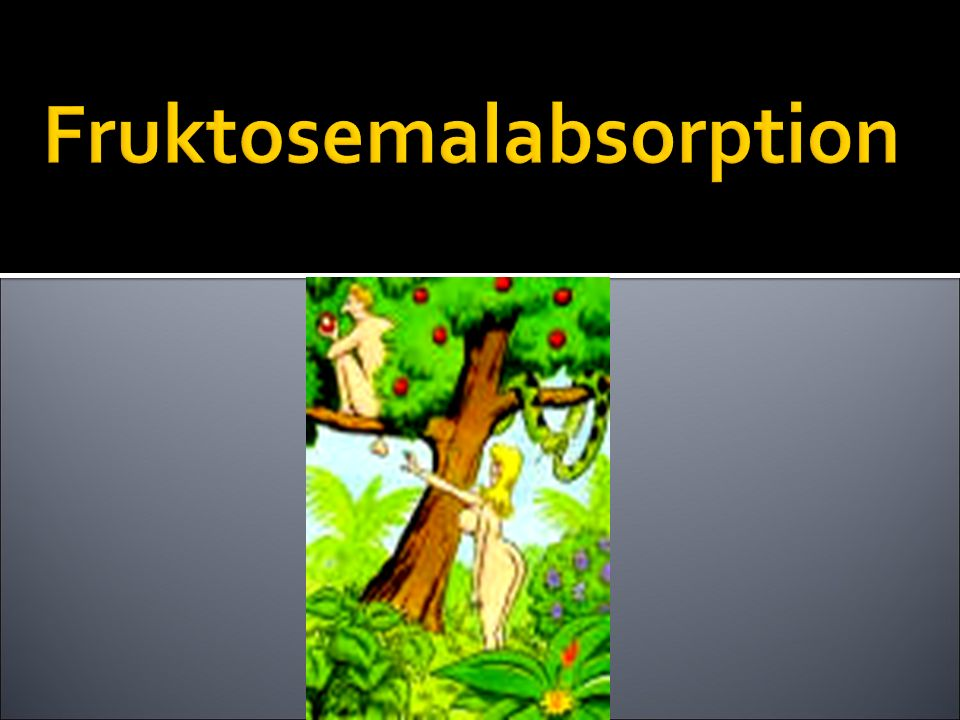 Fruktosemalabsorption