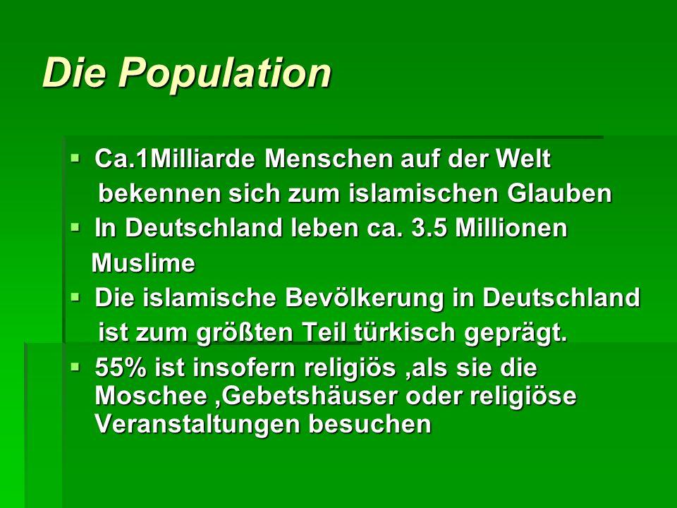 Die Population Ca.1Milliarde Menschen auf der Welt