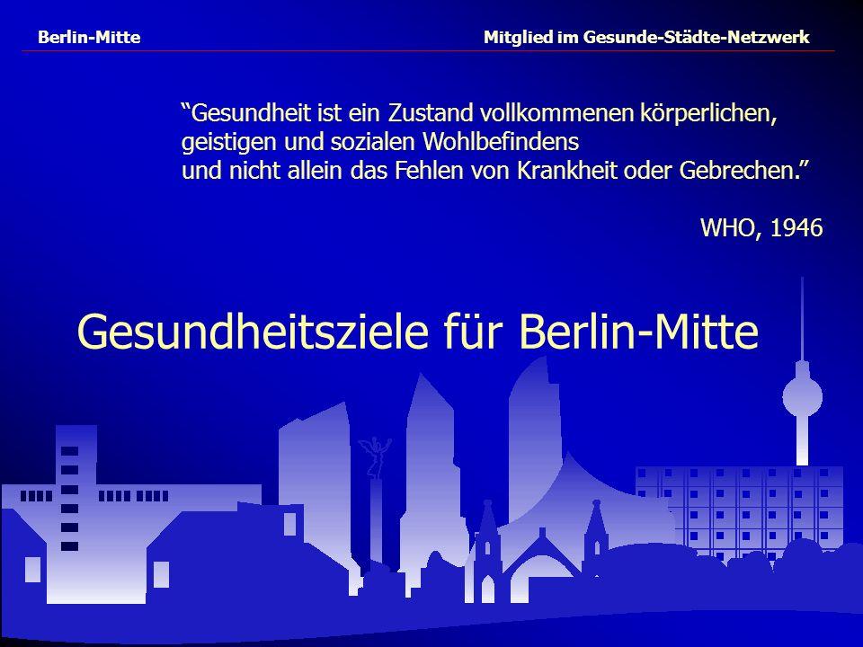 Gesundheitsziele für Berlin-Mitte
