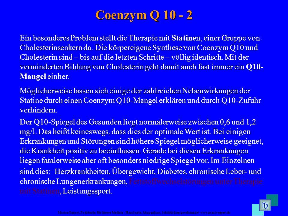 Coenzym Q 10 - 2