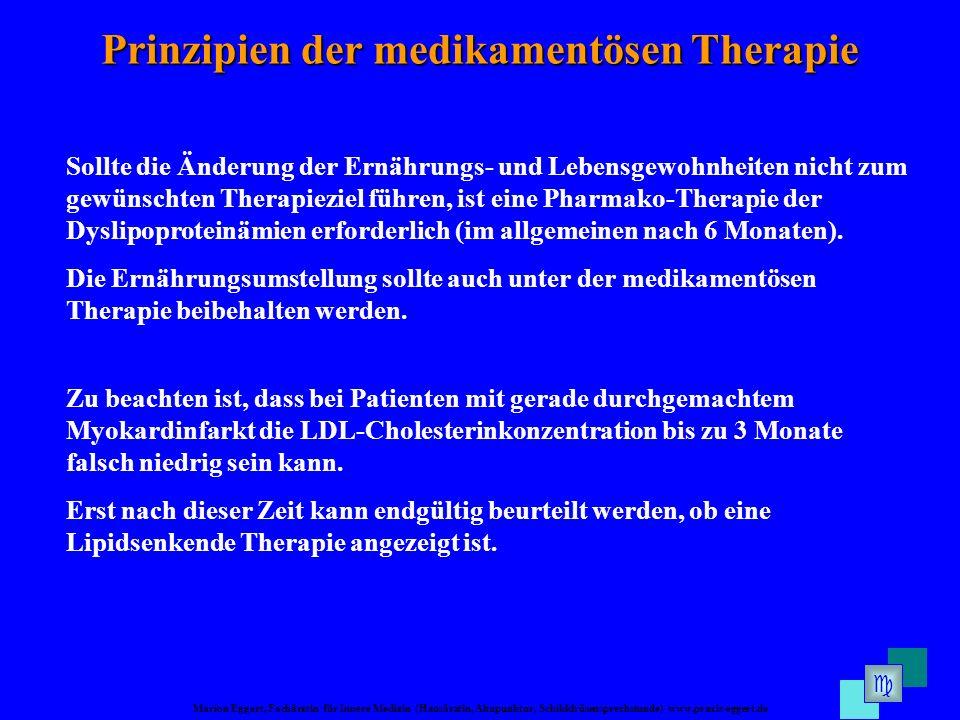 Prinzipien der medikamentösen Therapie
