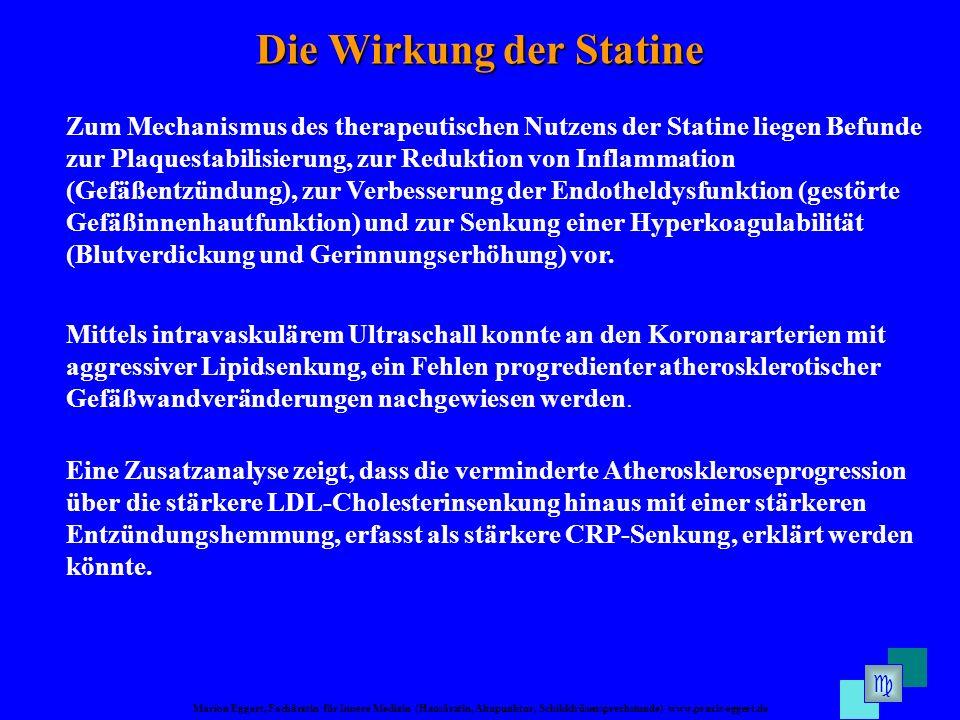 Die Wirkung der Statine