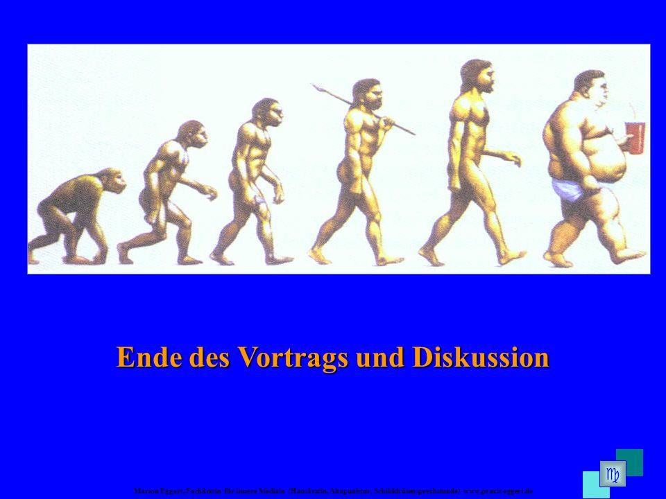 Ende des Vortrags und Diskussion