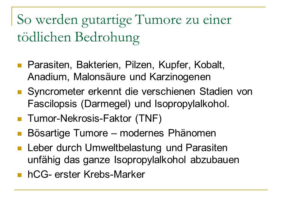 So werden gutartige Tumore zu einer tödlichen Bedrohung