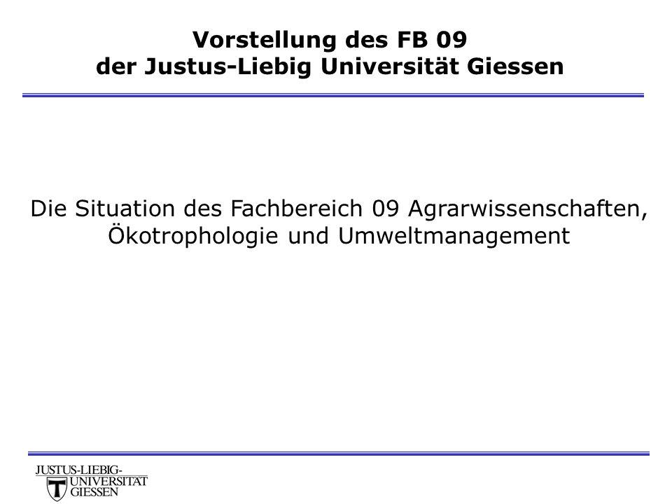 der Justus-Liebig Universität Giessen