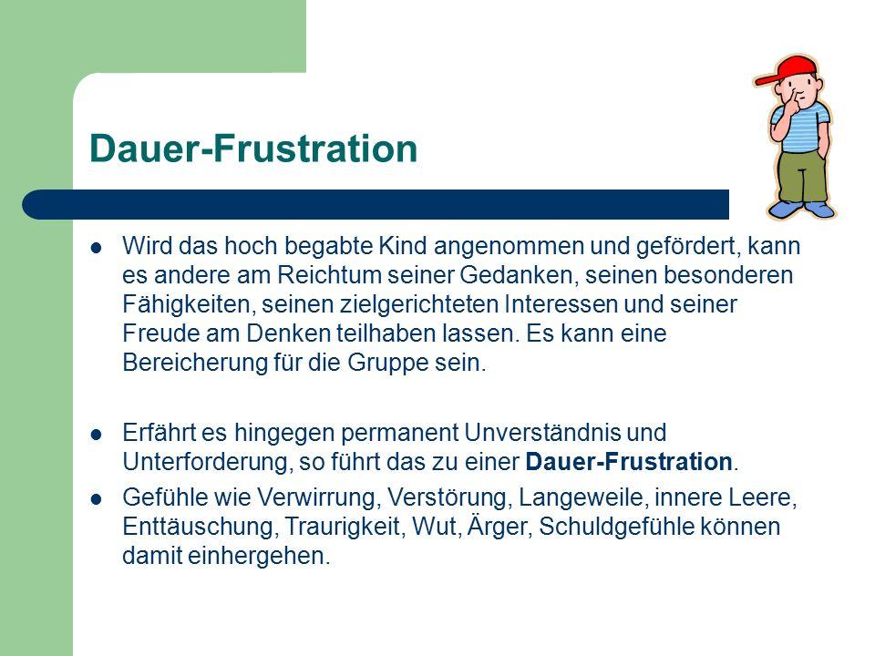 Dauer-Frustration