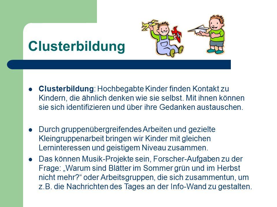 Clusterbildung