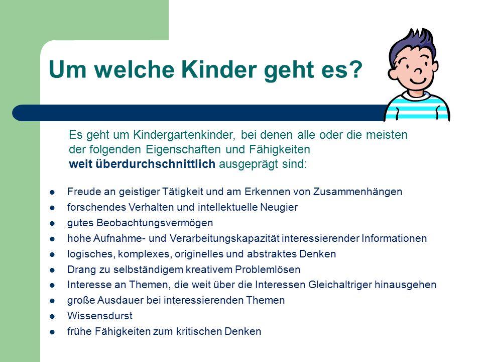 Um welche Kinder geht es
